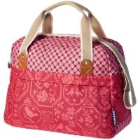 Basil Boheme Carry All Bag 18L Sakwa rowerowa miejska wodoodporna vintage red