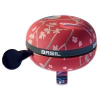 Basil Big Bell Wanderlust Dzwonek rowerowy 80mm vintage red