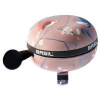 Basil Big Bell Wanderlust Dzwonek rowerowy 80mm orchid pink