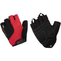 Accent Rider Rękawiczki rowerowe żelowe czarno czerwone