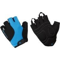 Accent Rider Rękawiczki rowerowe żelowe czarno niebieskie