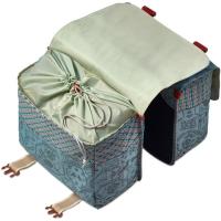 Basil Boheme Double Bag 35L Sakwa rowerowa miejska podwójna wodoodporna jade