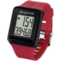 Sigma iD.Go Zegarek z pulsometrem czerwony
