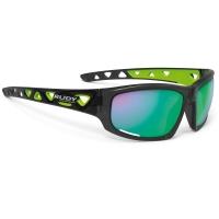Rudy Project Airgrip RP Optics Okulary rowerowe MTB czarno zielone