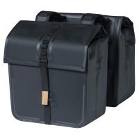 Basil Urban Dry Double Bag 50L Sakwa rowerowa miejska podwójna granatowa