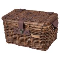 Basil Denton Kosz na bagażnik tylny brązowy