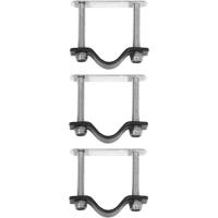 Basil Crate Mounting Set RVS Zestaw mocowania do koszy/skrzynek