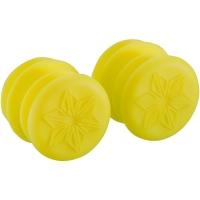 Supacaz Siliconez XL Chwyty rączki kierownicy żółte