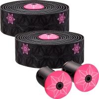 Supacaz Super Sticky Kush Galaxy Owijka na kierownicę czarno różowa
