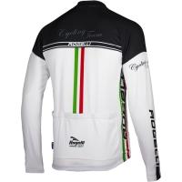 Rogelli Team Bluza rowerowa biało czarna