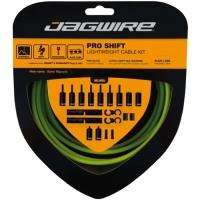 Jagwire Pro Shift Zestaw linek i pancerzy przerzutki MTB Szosa Shimano Sram zielony