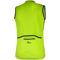 Rogelli Pollone Koszulka rowerowa bez rękawów żółta