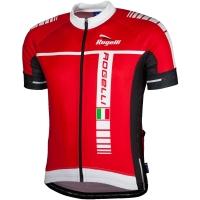 Rogelli Umbria Koszulka rowerowa letnia czerwona