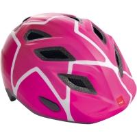 MET Genio II Kask rowerowy dziecięcy stars różowy