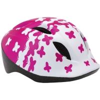 MET Buddy Kask rowerowy dziecięcy butterflies różowy