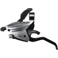 Shimano ST EF510 Altus Klamkomanetka 3 rz. lewa srebrna