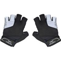 Author Men Comfort Gel X6 Rękawiczki rowerowe z krótkimi palcami czarno białe