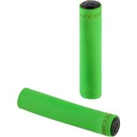 Accent Silicon Chwyty rowerowe kierownicy 130mm zielone