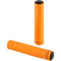 Accent Silicon Chwyty rowerowe kierownicy 130mm pomarańczowe