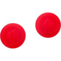 Accent AC Plug Zatyczki do kierownicy MTB szosa czerwone