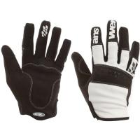 Answer Enduro Rękawiczki rowerowe z długimi palcami czarno białe