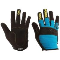 Answer Enduro Rękawiczki rowerowe z długimi palcami czarno niebieskie