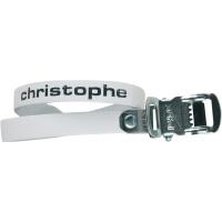 Zefal Christophe 516 Sprzączki do nosków pedałów białe