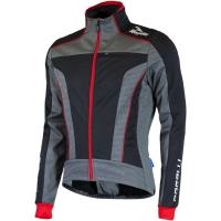Rogelli Trani 3.0 Kurtka rowerowa zimowa z membraną czarno czerwona
