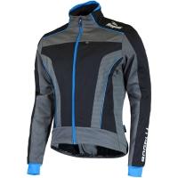 Rogelli Trani 3.0 Kurtka rowerowa zimowa z membraną czarno niebieska