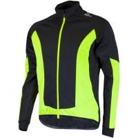 Rogelli Ubaldo 2.0 Kurtka rowerowa softshell z membraną czarno żółta