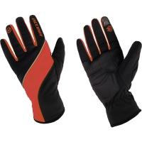 Accent Windstar Zimowe rękawiczki rowerowe czarno czerwone