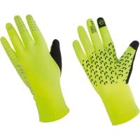 Accent Gripper Zimowe rękawiczki rowerowe żółte neonowe