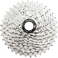 SunRace CSM959 Kaseta rowerowa MTB 9 rzędowa srebrna