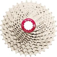 SunRace CSMX0 Kaseta rowerowa MTB 10 rzędowa srebrna
