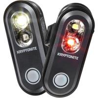 Kryptonite Avenue F 70 / Avenue R 35 Zestaw lampek przód tył LED USB