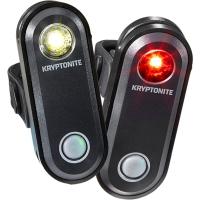 Kryptonite Avenue F 65 / Avenue R 30 Zestaw lampek przód tył LED USB