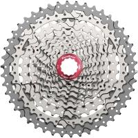SunRace CSMX3 Kaseta rowerowa MTB 10 rzędowa srebrna