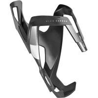 Elite Vico Carbon Koszyk na bidon czarno biały matowy