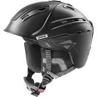 Uvex P2us Kask narciarski snowboard czarny 2019