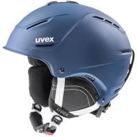 Uvex P1us 2.0 Kask narciarski snowboard niebieski mat 2019