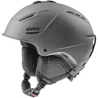 Uvex P1us 2.0 Kask narciarski snowboard black met mat