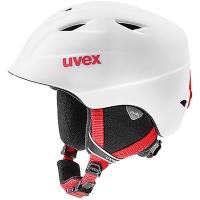 Uvex Airwing 2 Pro Dziecięcy kask narciarski snowboard biało czerwony 2019