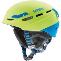 Uvex p.8000 tour Kask skiturowy zielono niebieski 2018