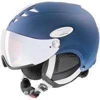 Uvex Hlmt 300 Kask narciarski z szybką niebieski 2019