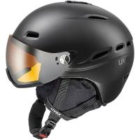 Uvex Hlmt 200 Kask narciarski z szybką czarny