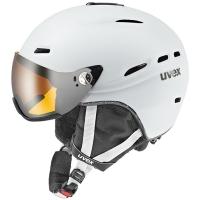 Uvex Hlmt 200 Kask narciarski z szybką biały 2018
