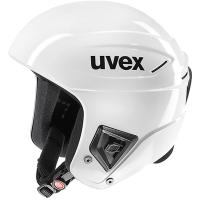 Uvex Race+ Kask narciarski biały