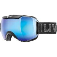 Uvex Downhill 2000 FM Gogle narciarskie black mat mirror blue clear 2019