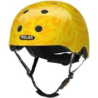 Melon Urban active Kask rowerowy miejski Mellow żółty