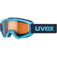 Uvex Speedy Pro Gogle narciarskie junior dziecięce blue z szybą lasergold 2018